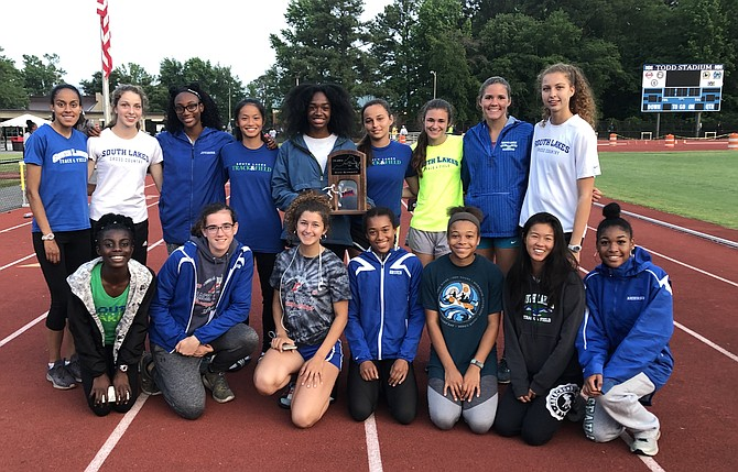 SLHS Outdoor Track Girls Team finished second at 6A State Championship on June 1, 2019.