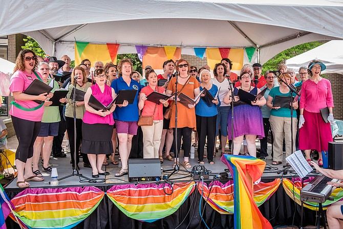 Reston Pride was designed to be a celebration and an opportunity to show support for members of the LGBTQ+ community.