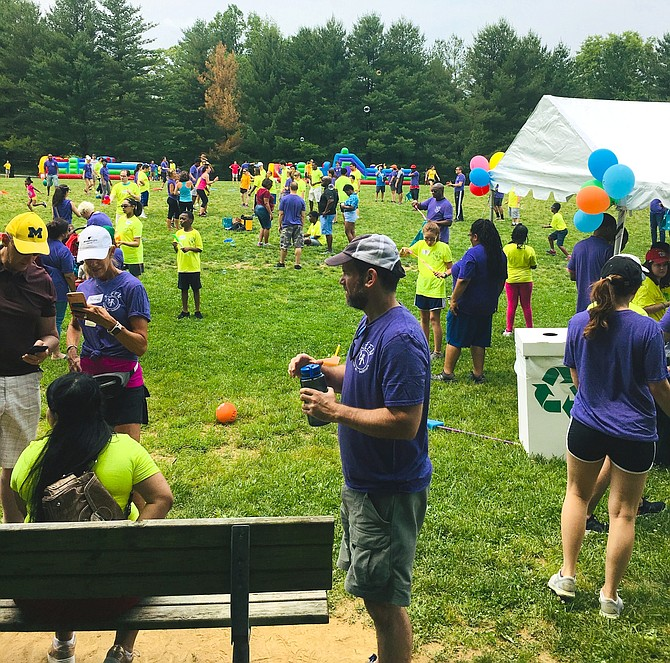 It was a colorful sight at Avenel Park Sunday when KEEN of Greater DC celebrated its annual Sports Festival.