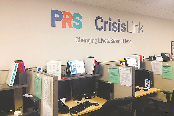 The CrisisLInk runs Northern Virginia's 24/7 suicide prevention and crisis intervention hotline.