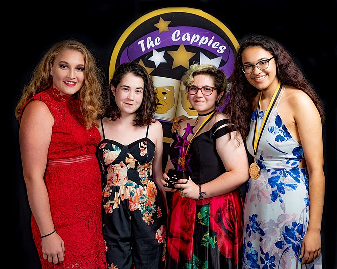 "Langley High School's ""Biloxi Blues"" won the Cappies Awards for Best Play and Ensemble In a Play."