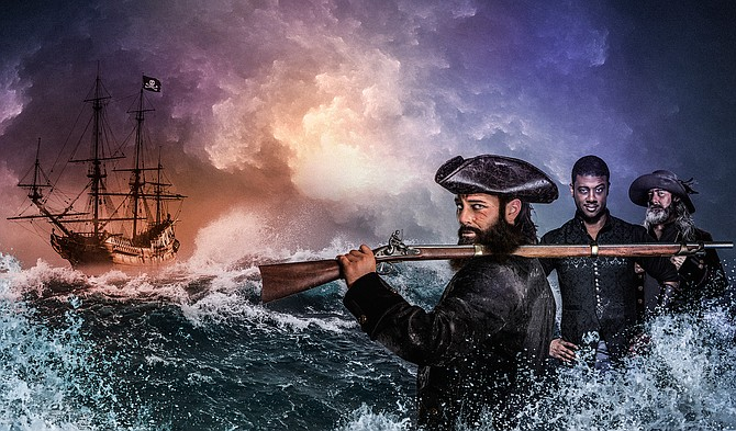 """Signature Theatre presents """"Blackbeard"""" from now through July 14."""