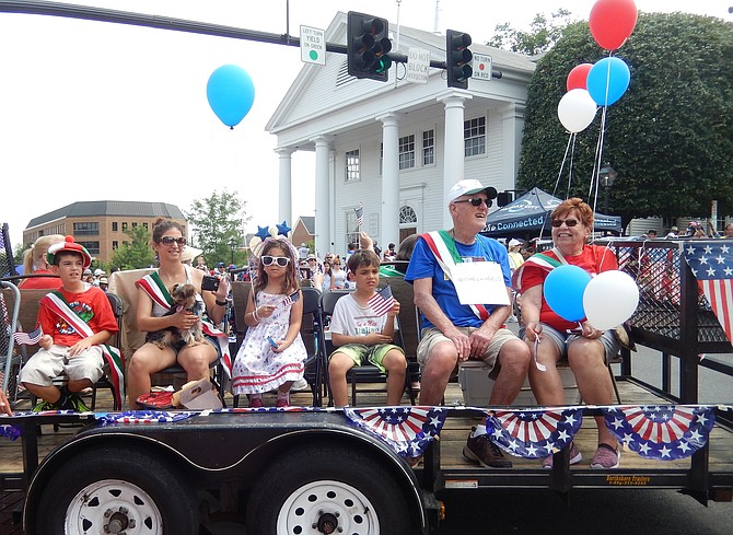 This Italian Heritage float was in last year's July 4 parade.