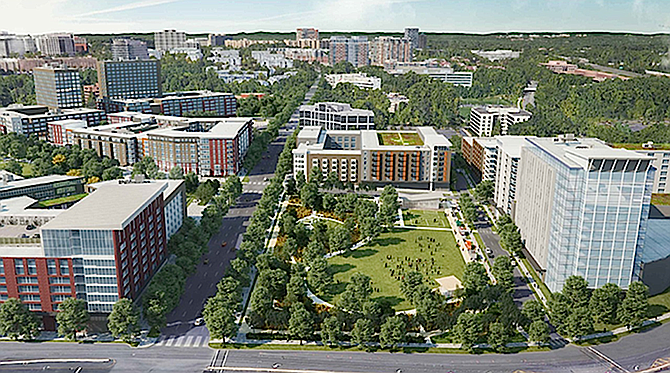 The Mile will deliver a long-planned signature park for Tysons.