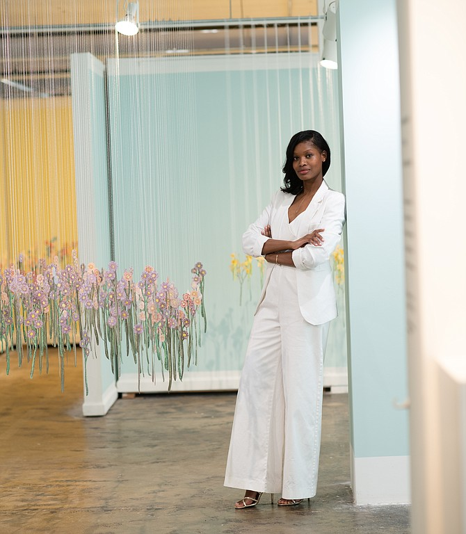 Jaynelle Hazard, director of exhibitions, Workhouse Arts Center.