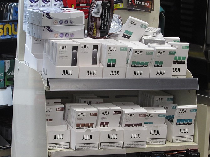 Juul Labs, Inc. accounts for more than 70 percent of the e-cigarette market. The company has drawn criticism for the heavy use of their products among underage youths.