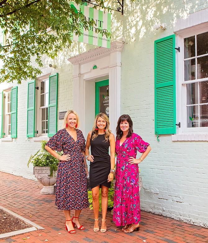 Katie Coslov, Toni Henderson and Megan Podolsky.