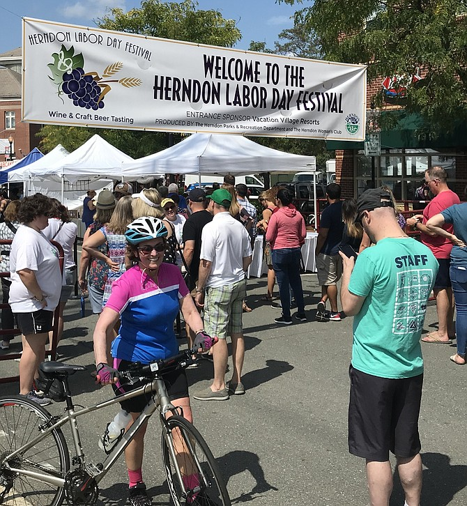 Approximately 2,000 patrons passed through the gates of the 2019 Herndon Labor Day Festival.