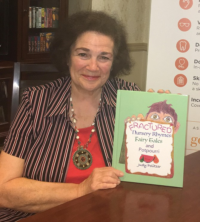 Great Falls author and illustrator Judith Politzer will appear at Sunrise Senior Living in Reston on Saturday, Sept. 7, at 2 p.m. to discuss her new book.