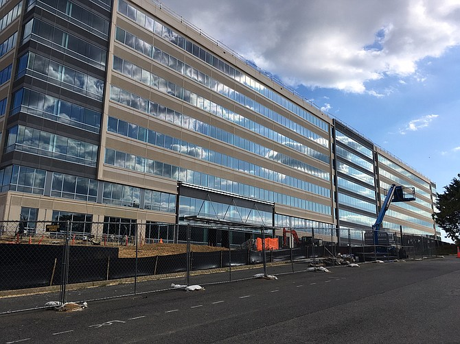 TSA building is coming together in Springfield.