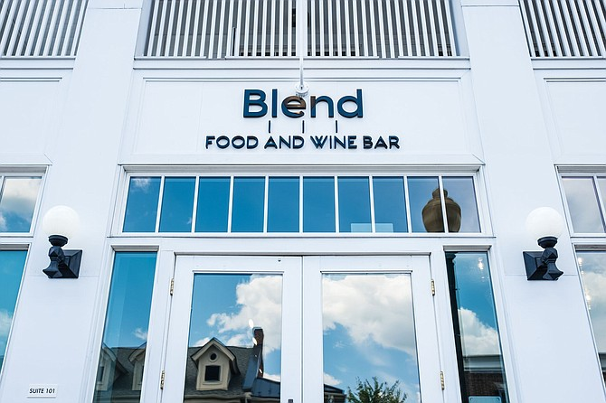 A new dining star in  Vienna—Blend 111 Food and Wine Bar, located at 111 Church Street.