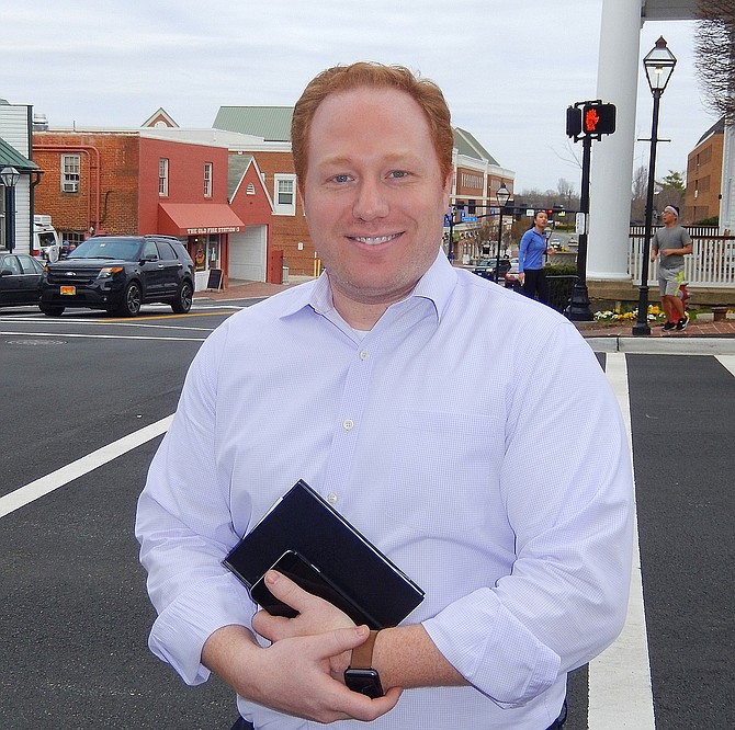 Chris Bruno, Fairfax City's Economic Development Director, is a member of the new NOVA EDA.