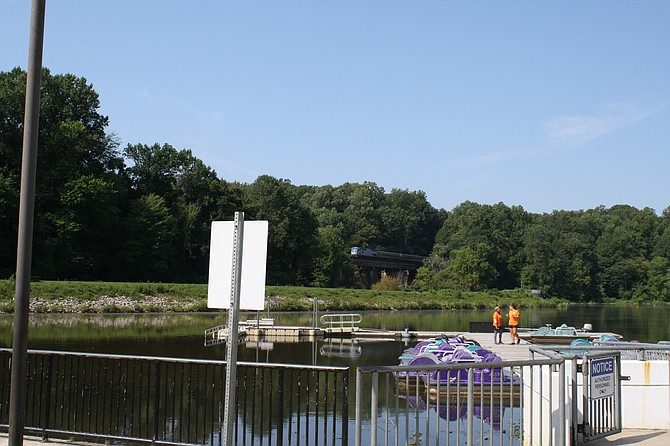 Lake Accotink will be dredged, saving a popular park in Springfield.