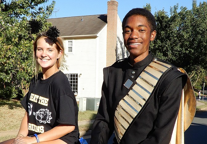 Senior Court members Victoria D'Ercole and Jalin Dew.