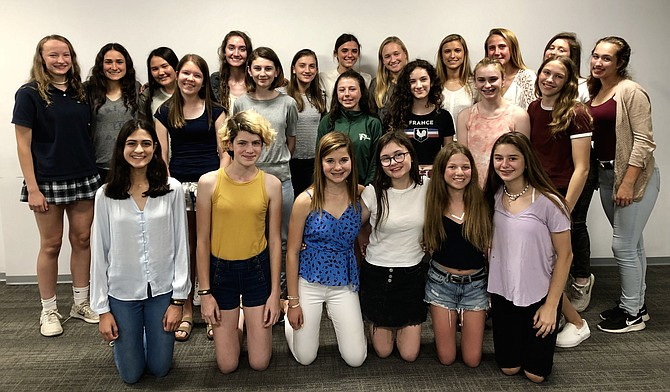 Washington International Horse Show welcomes 37 local teens attending schools in Virginia, Maryland, and D.C. to serve on the 2019 WIHS Junior Committee presented by Signature Academics. WIHS is Oct 22-27; see www.wihs.com.