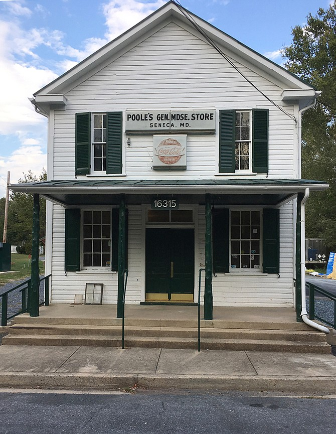 "Seneca Store, locally known as Poole's Store, has been rehabilitated and brought up to code by Montgomery Parks for use as ""a working store and a heritage tourism destination."""