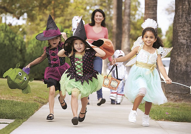 Make sure that costumes are fire resistant, use reflective tape and opt for face paint instead of masks to help keep children safe this Halloween. Parents or other adult should accompany children under 12.