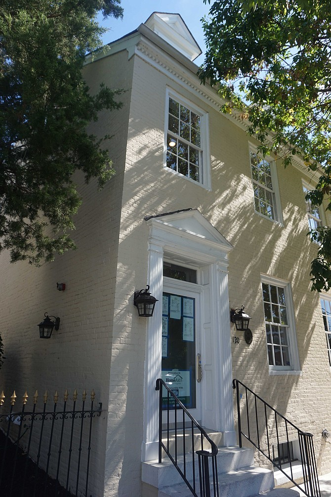 Historic building renovated as Guest House 2 for formerly incarcerated non-violent women.
