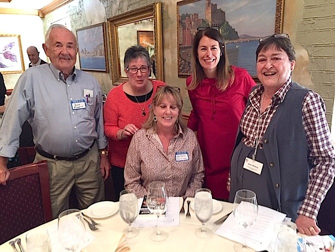 From left: Robert A. Rogers, Lorna Creedon, Kathy Blevins, Mayor Laurie DiRocco, Anne H. Radway Barber.
