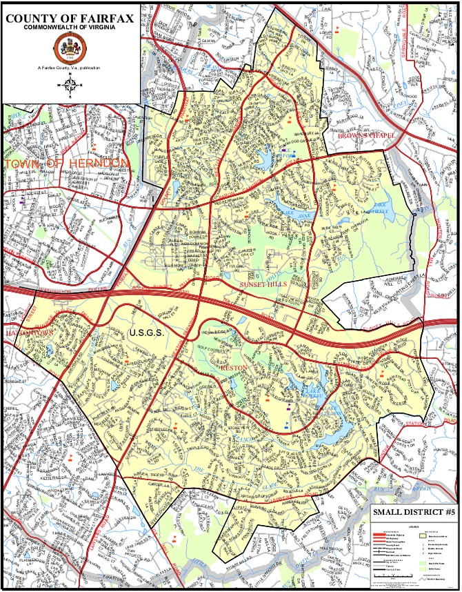 Reston Small District 5.
