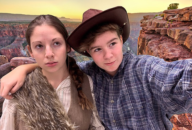 Becky Woolf and Anna Kruse as William Dunn and John Coulton Sumner.