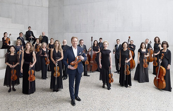 Zurich Chamber Orchestra, led by Daniel Hope, will perform at the Center for the Arts on Sunday, Nov. 10, 2019.