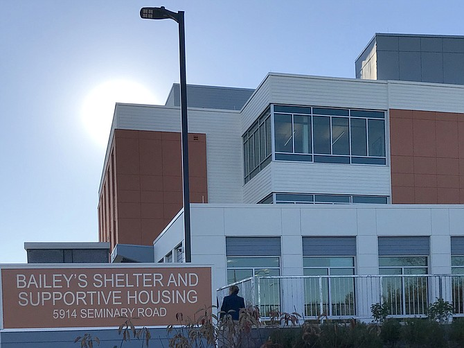 The new Bailey's Shelter and Supportive Housing, located at 5914 Seminary Road in Falls Church, is the first of its kind in Fairfax County designed with the flexibility to ensure multiple needs of guests and residents can efficiently be met in one location.