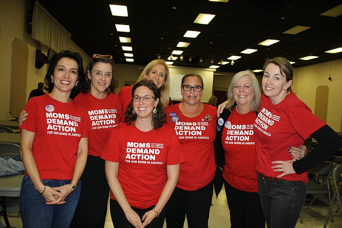Moms Demand Action on election night.