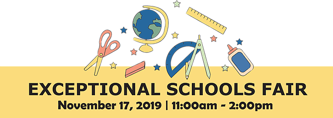 13th Annual Fair | Sunday, November 17th, 11 am – 2 pm | FREE and OPEN to the PUBLIC | Katzen Arts Center – American University @ Ward Circle – Massachusetts & Nebraska Ave. NW | Showcasing the many wonderful school choices available to families of children with diverse learning needs. Find out about individualized programs that will help your child thrive both academically and socially.