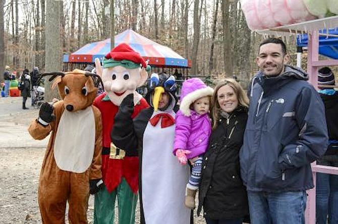 Burke Lake Park will host Winter Wonderland and Celebration Station the first two weekends in December.
