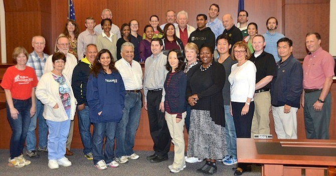 The Fairfax County Police Department seeks people from a wide variety of cultures and backgrounds when selecting participants for its Citizen Police Academy.