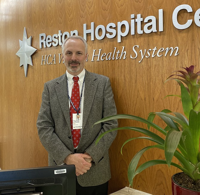 Dr. Thomas Taghon is the new Chief Medical Officer at Reston Hospital Center, HCA Healthcare. He says simply: 'Call me Tom.'