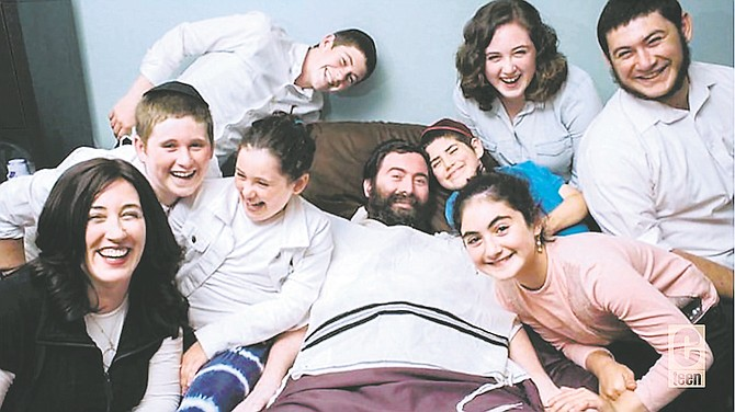 Even with unimaginable limitations, rabbi Yitzi expresses intense love and optimism, and deeply touches many lives.