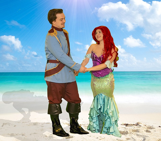 Ariel, a mermaid princess who dreams of becoming human after falling in love with Eric.