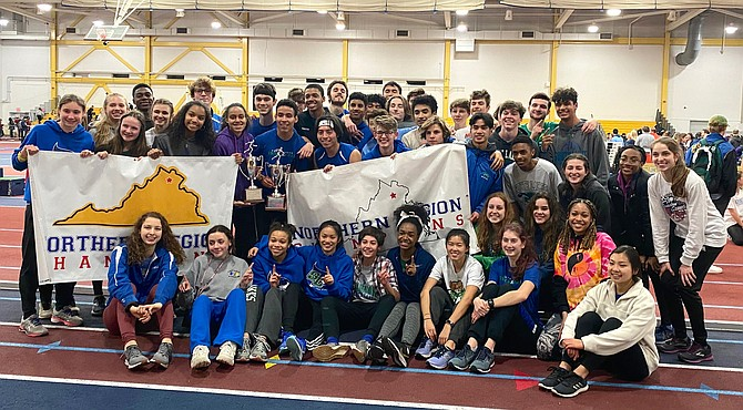 SLHS wins Northern Region Indoor Track Championships (Feb.12, 2020).