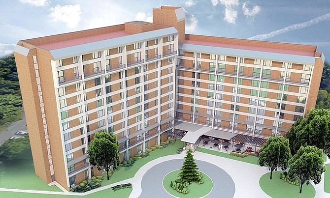Hunters Woods Housing Preservation & Renovation Rendering: subject to change. Renderings are, in fact, concepts pending approval from the Reston Association and pending final financial considerations.