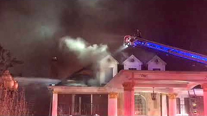 Damages as a result of the fire are approximately $3,523,850.