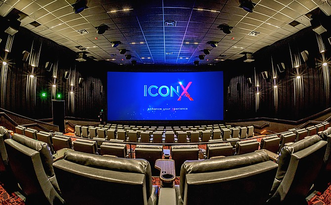 Tysons Showplace Theatre ICON auditorium image.