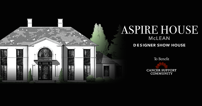 Aspire Design Home in McLean will  be open to the public from June 13 through July 12.