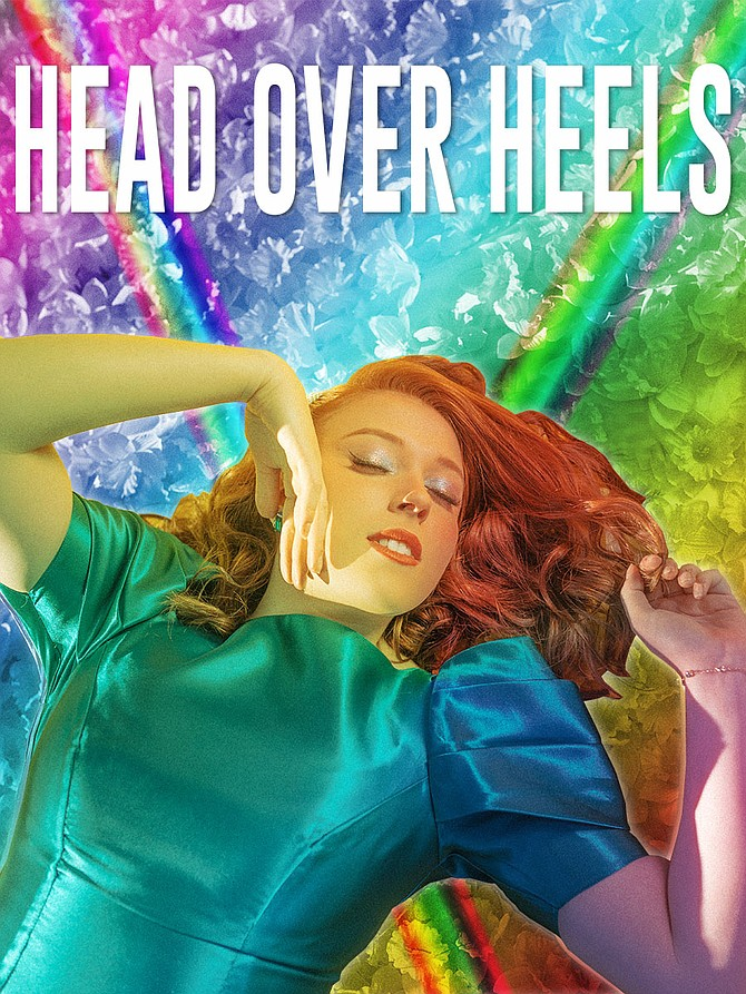 """Head Over Heels"" will be performed by the Monumental Theatre Company now thru March 23, 2020 at the Ainslie Arts Center at Episcopal High School in Alexandria."