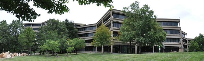 USGS JW Powell Building in Reston, Virginia.