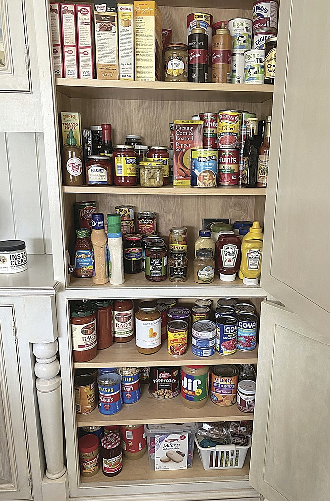 A pantry stocked with a carefully planned array of staples can keep meals healthy and interesting.