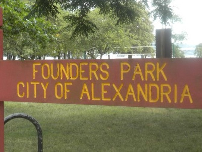 The body of a D.C. resident was discovered washed ashore April 5 at Founders Park.