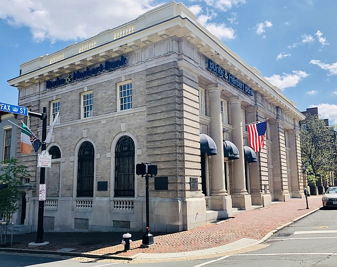 Burke and Herbert Bank in Alexandria has received about 1,000 applications for money from the Paycheck Protection Program, about 300 of which have been approved. Bank officials hope to start closing on the loans this week.