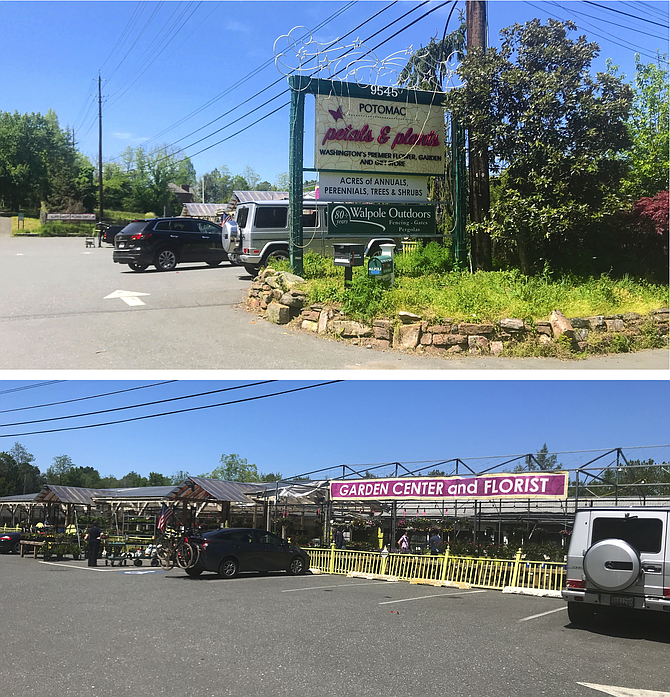 Potomac Petals and Plants (formerly Behnke's Nursery) on River Road could be transformed into a continuing care retirement community containing up to 100 dwelling units or 120 beds.