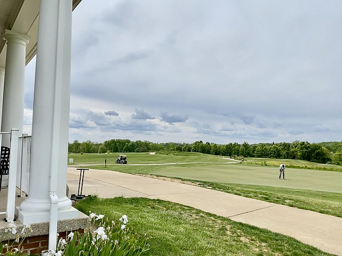 Laurel Hill Golf Club's beautiful scenery encompasses the former grounds of Lorton Prison and dairy farm.