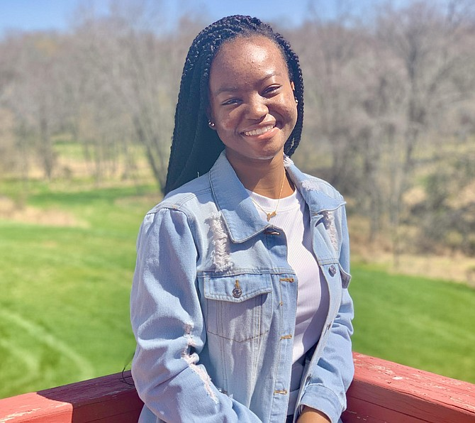South Lakes High School senior Imani Iron of Herndon wins College Board Opportunity Scholarship.