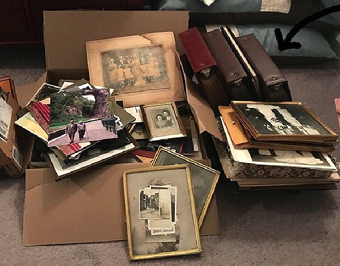 Tackling the task of organizing decades of photographs and storing them in acid-free, archival boxes and photo albums can prevent yellowing and deterioration.