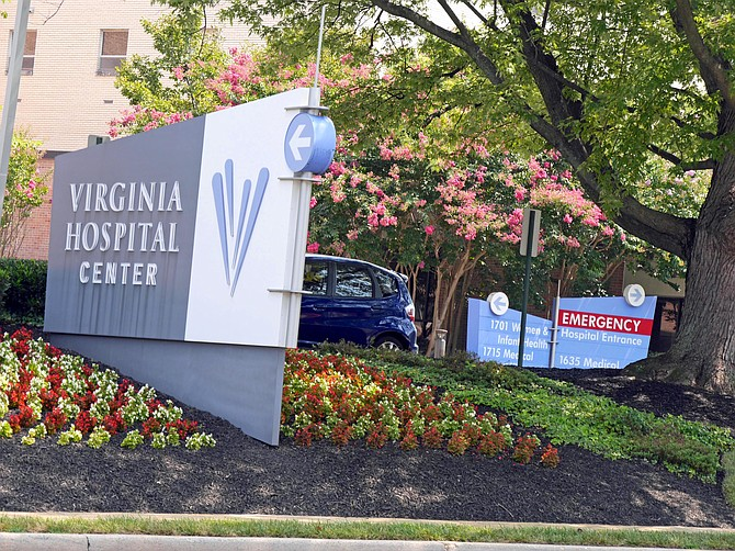 Arlington Hospital Center treats coronavirus patients, sets up testing sites.