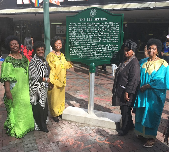 Known as the most arrested family in the country during the Civil Rights Movement, the Lee family fought to break down barriers imposed by Jim Crow laws and racism. Turner is pictured with five of her 13 siblings (l-r) Peggy J. Lee, Sandra Lee Swift, Elaine Lee Turner, Ernestine Lee Henning and Brenda Lee Turner.